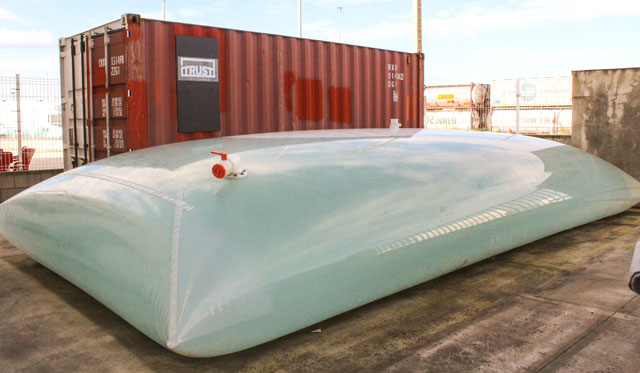 Temporary Storage Tanks for Bulk liquids